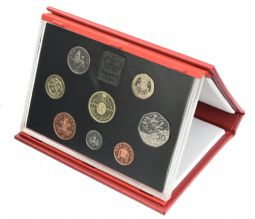 1994 Proof set red Leather deluxe for sale